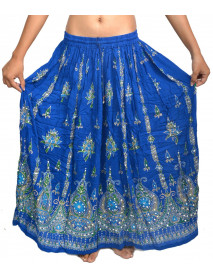 05  Long Hand Beaded Sparkle skirts