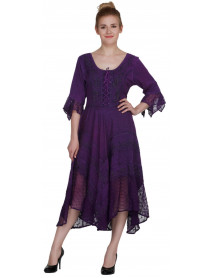 05 Lovely Bohemian Wholesale Ladies Dresses with Sleeves