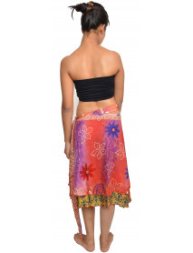 05 Magic skirt multi wear silk 24""