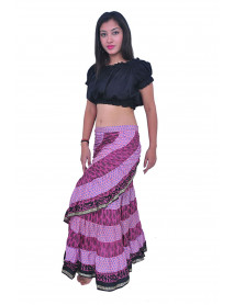 05 Saree Tribal Wrap Skirt
