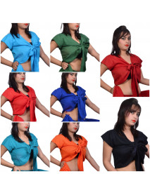 Lot of 50 Tribal Fusion Belly Dance Tops 100% Cotton  Wholesale