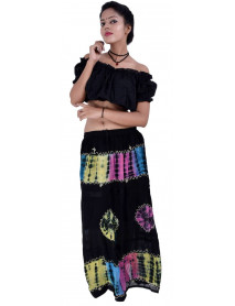 100  Women Full/ankle Length Maxi Chiffon Long Skirt