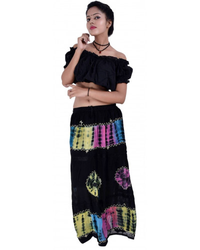 100  Women Full/ankle Length Maxi Chiffon Long Skirt
