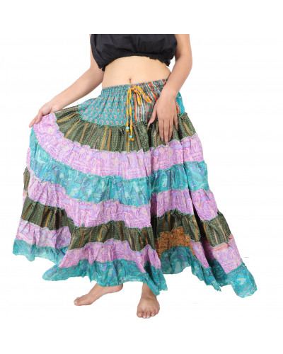 10 Arab banjara style tribal assorted frill skirts