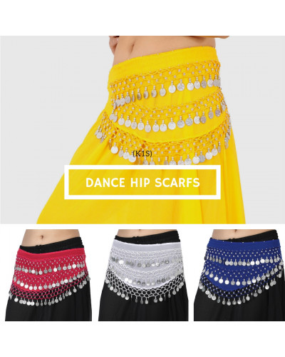 10 Belly dance hip scarves for kids