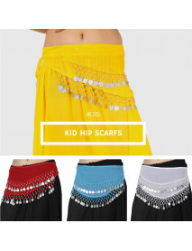10 Crochet Kid hip scarf belly dancing