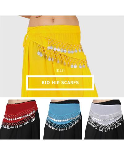 10 Crochet Kid hip scarf belly dancing