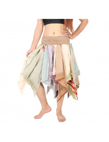 10 Diamond cut style multi color skirts