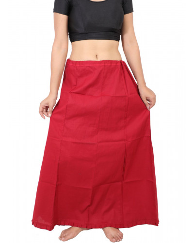10 Indian Cotton petticoat for Saree