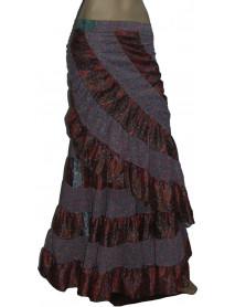 10 Long Indian Wrap Skirts for Women Sale