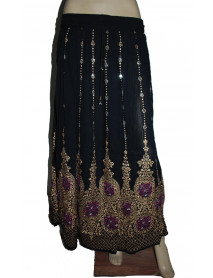 10 New Design Women Long Sequin Skirt