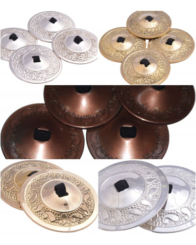 10 Pairs Wholesale Belly Dance Fusion Sagats / Zils / Cymbals