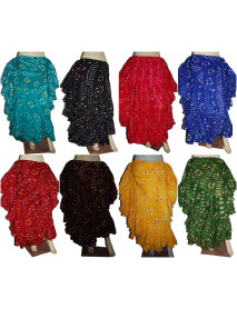 10 Pcs Lot of Spanish folkloric dance polka dot skirt