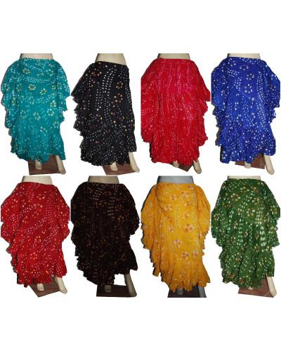 10 Pcs Lot of Spanish folkloric dance polka dot skirt