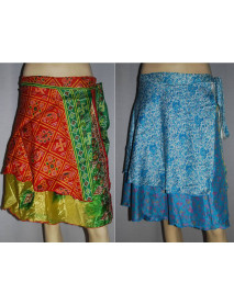 10 Reversible short magic skirt 24""