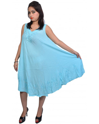 10 Summer rayon dress Multiple colors
