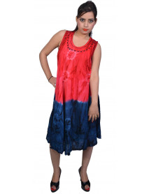 10 Women Summer Tie Dye Dresses Wholesale