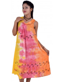 100  Chinese style women summer dress