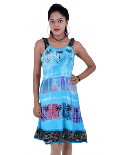 100 Fashion Rayon Ladies Day Dresses Smocked