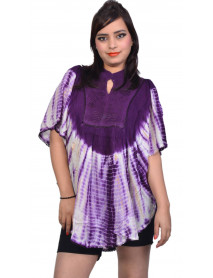 100 India Rayon Tie Dye top