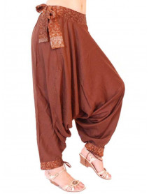 100 pcs Women Harem Baggy Border Pants