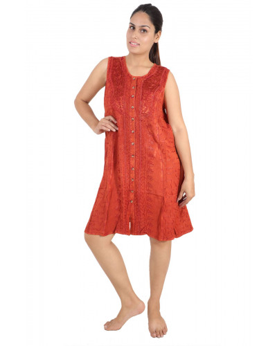 30 Short Wholesale Embroidery Dresses for Women