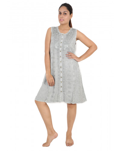 100 Short Wholesale Embroidery Dresses for Women