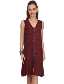 100 Summer wear boho dress front open