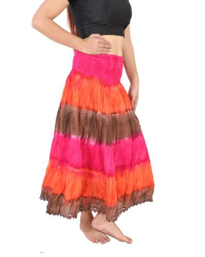 100 Tie Dye Designer Indian Umbrella skirts