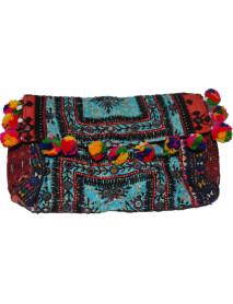 """100 Vintage Tribal Print clutch Bags Purse Wholesale 6""""x9"""""""