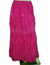 100 women bohemian Full Long Maxi Skirt