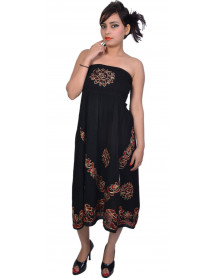 100 Women  Embroidery Casual Evening  Dress