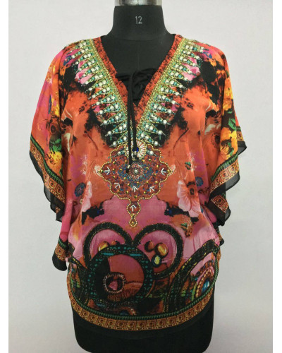 100 Women Hawaiian Casual Poncho Tops