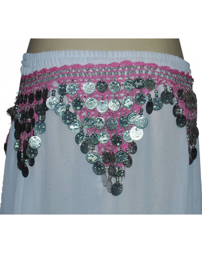 12  Crochet Egyptian Hip Scarves for ATS Zumba Belly Dance
