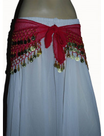 12 Indian Belly Dancing Hip Scarves