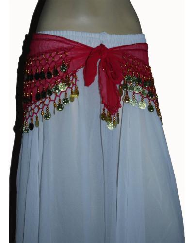 12 Indian Belly Dancing Hip Scarves