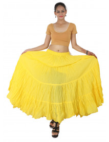 Contemporary tribal belly dance 12 yard cotton skirts