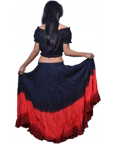 12 Yard Plus Size Tribal Belly Dance Skirts