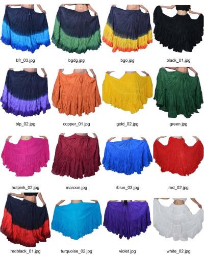 12 yard skirts Wholesale 10 pcs