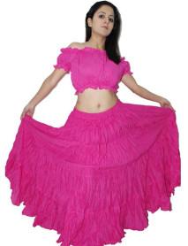 12 Yard Tribal Gypsy Skirt Turkish Belly Dance