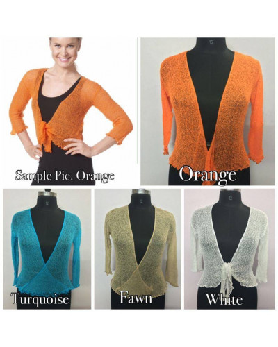 100 Pcs Latest Womens Summer Shrugs Sheer