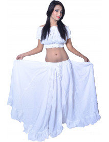 16 Yard Belly Dance Costume Skirt