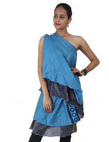 20 Long wrap sari skirt 36""