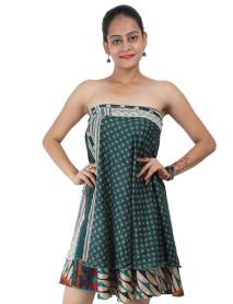 """20 Magic Silk sari wrap skirt 30"""""""