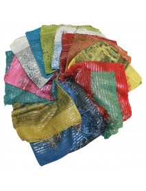 20 Mix Color Lurex Scarves