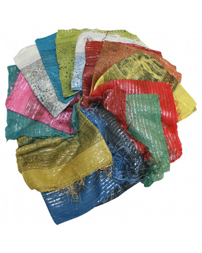 20 Mix Color Lurex Scarves