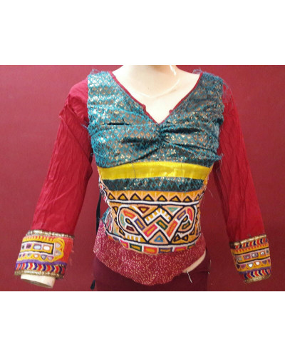 20 Pcs Rajasthan  Banjara Kutch Bollywood Choli Blouse