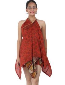 "20 Pcs Vintage Silk Wrap Diamond Pointed Skirt 30"""