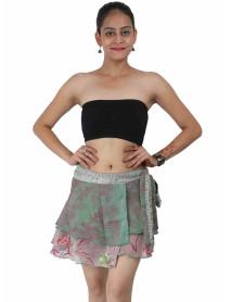 """20 Small size wrap sari skirt 16"""""""