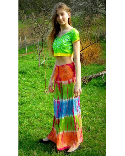 20 Women tie dye harem pants wide bottom